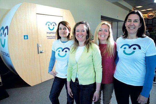 Mamava Pods Make Breastfeeding Easier