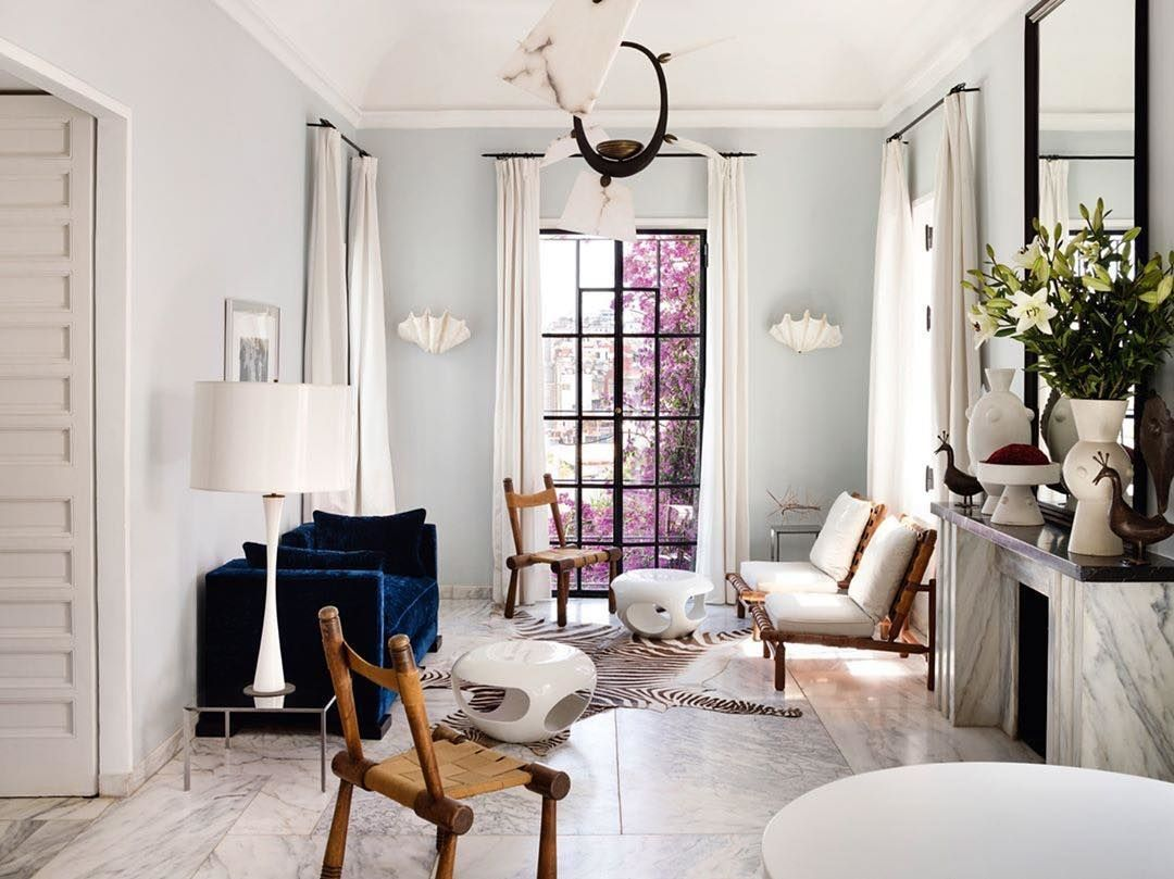 Is this sitting room not the epitome of Scandi cool? We ...