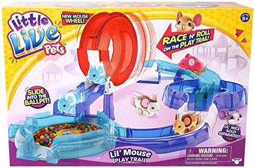 Little Live Pets S2 Lil Mouse Play Trail Little Live Pets Walmart Kids Pets