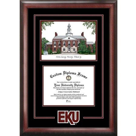 Eastern Kentucky University 8.5 inch x 11 inch Spirit Graduate ...