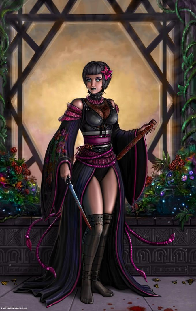Midnight Sun (roman) : midnight, (roman), Midnight, SirTiefling, Fantasy, Girl,, Roman, Mythology