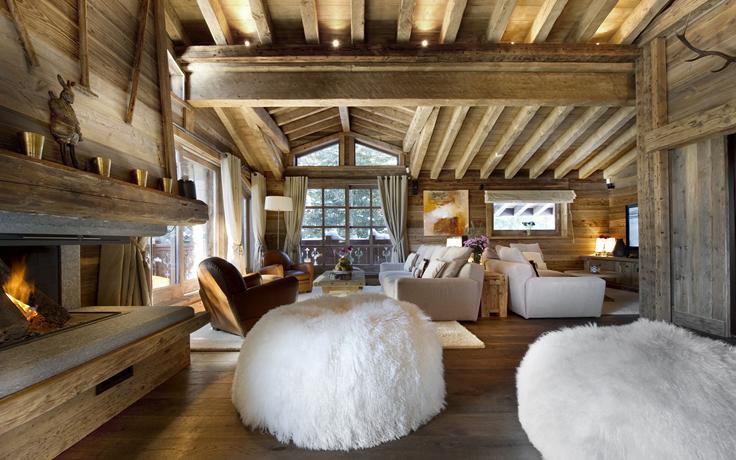 30 Rustic Chalet Interior Design Ideas | Design - Architecture ...