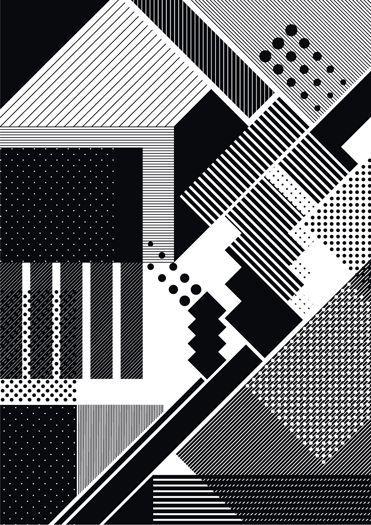 lines plus dots 04 poster by steve buffoni в 2019 г