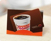 Enter to #win a $25 gift card to Dunkin Donuts! :)   Nov Giveaways ...
