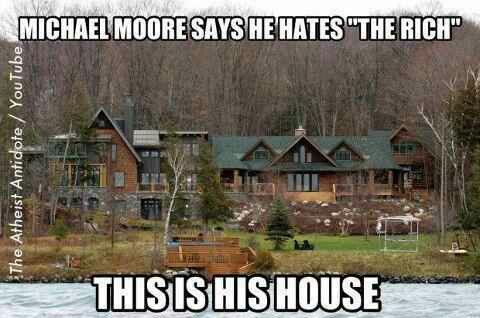 Michael Moore Says He Hates The Rich And Lives In A Mansion Worth 50 Million