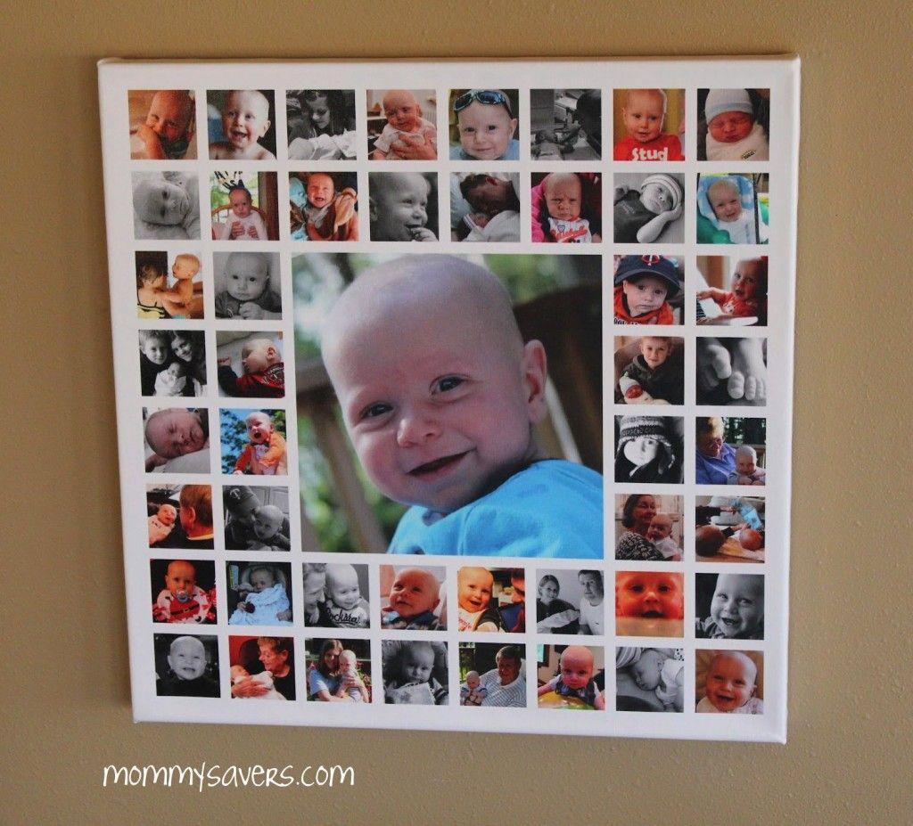Открытка из фоток детей
