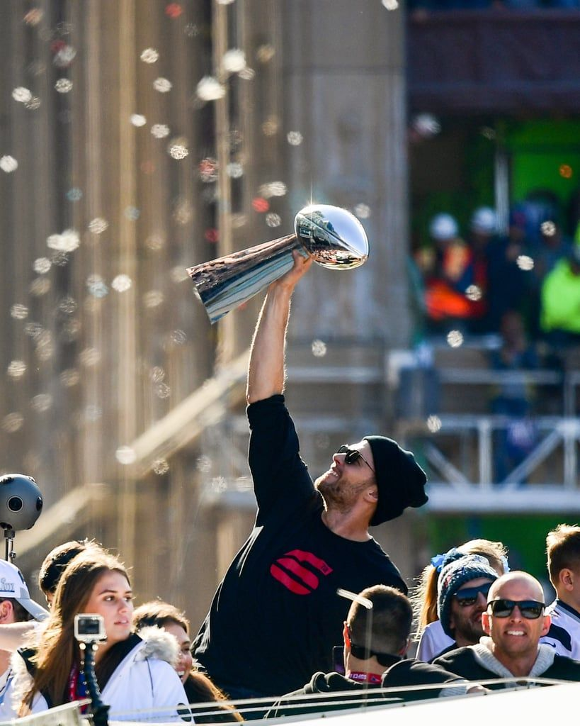 Tom Brady and His Adorable Kids Are the Real MVPs of the