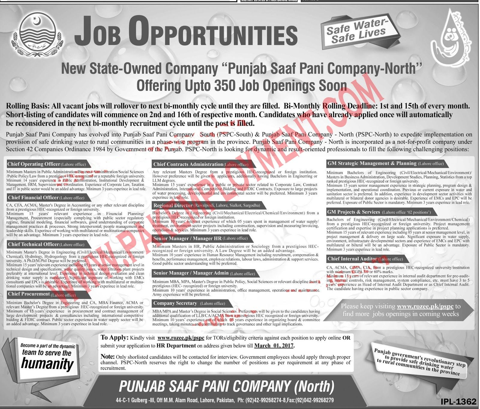 pvt company jobs