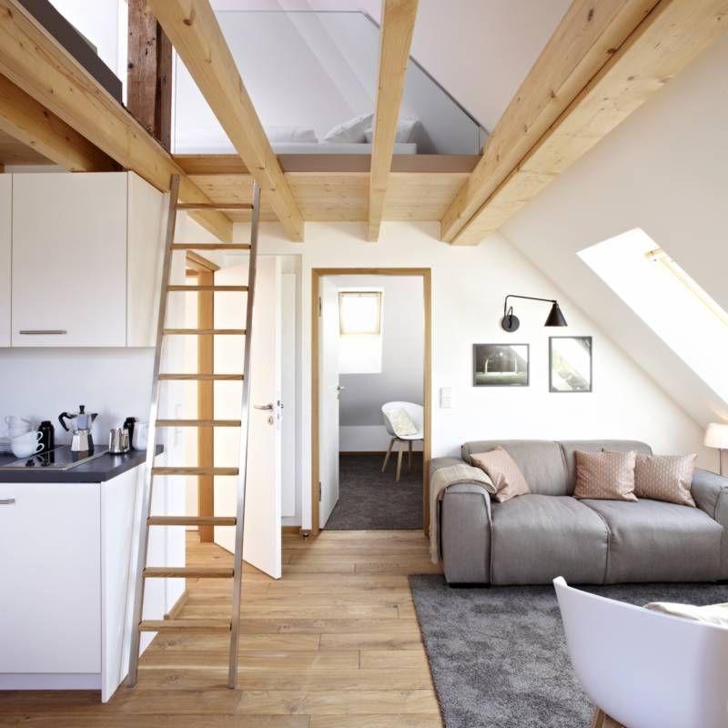 Wohnideen Dachwohnung nr 7 die geräumige dachwohnung mit galerie königsschlaf sieben