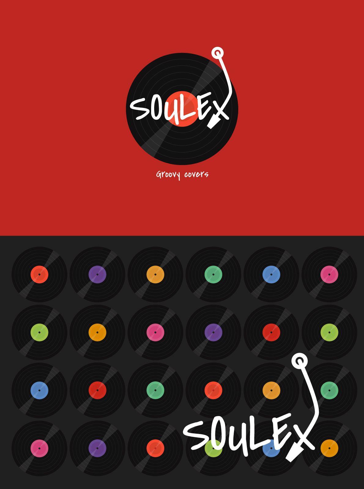 Association Soulex #bordeaux #logo #identity #visual #music