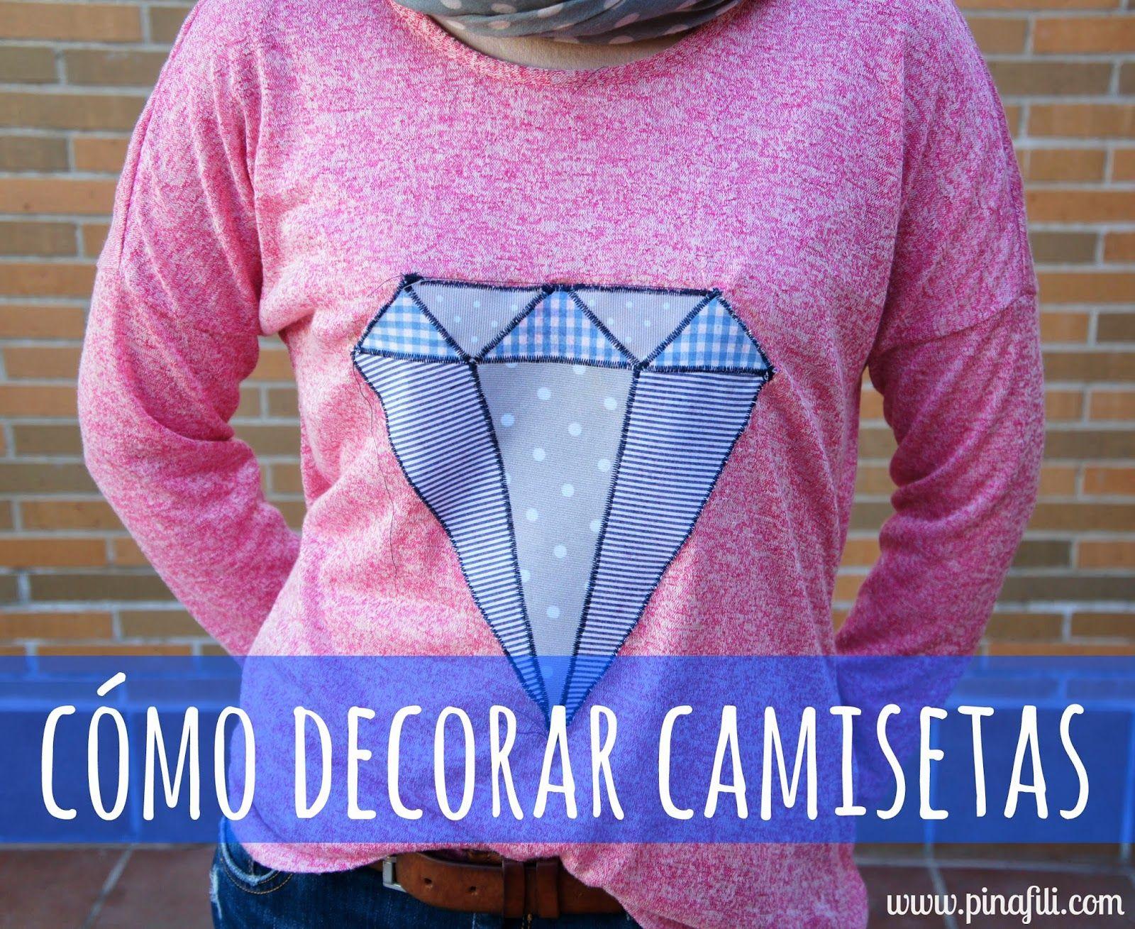 Pinafili pinafili films decorar um hoodie sudaderas - Decorar camisetas basicas ...