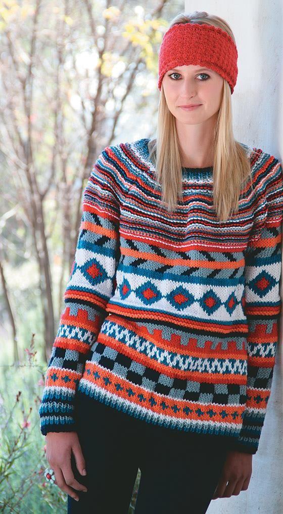 Vrouekeur   KNIT: Fair Isle Sweater   Knitting & crocheting ...