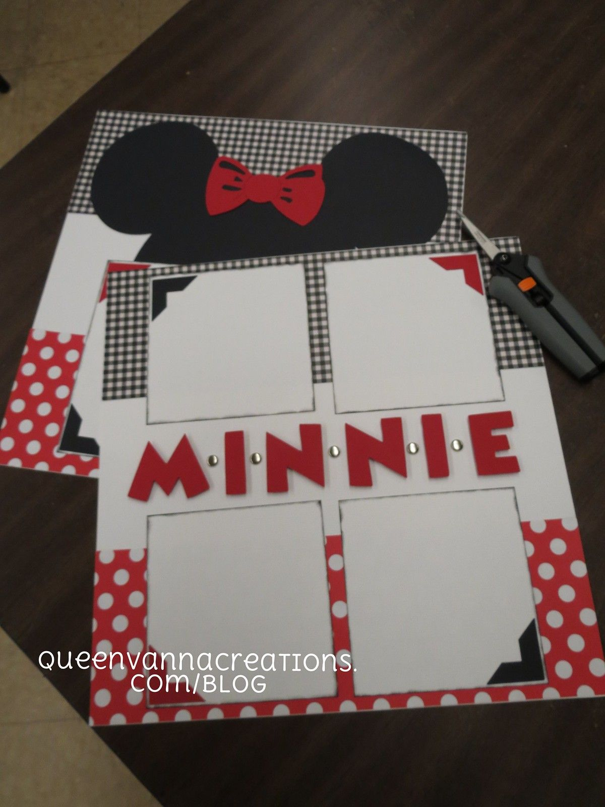 Disney Scrapbook Layouts  vanna  Flickr