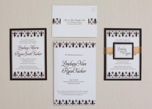 New Wedding Invitation Ideas: New Orleans Themed Wedding Invitations.