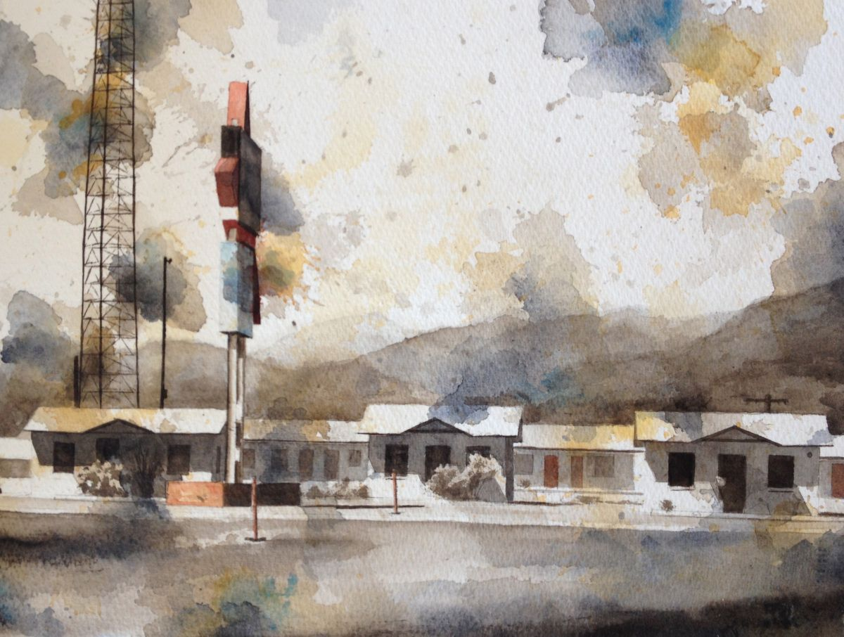 Tim Saternow Studies Boxoprojects Painting Watercolor