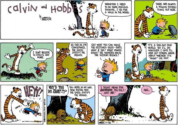 Self-centered Ethics...