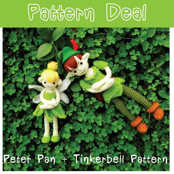 Pattern Deal Peter Pan And Tinkerbell