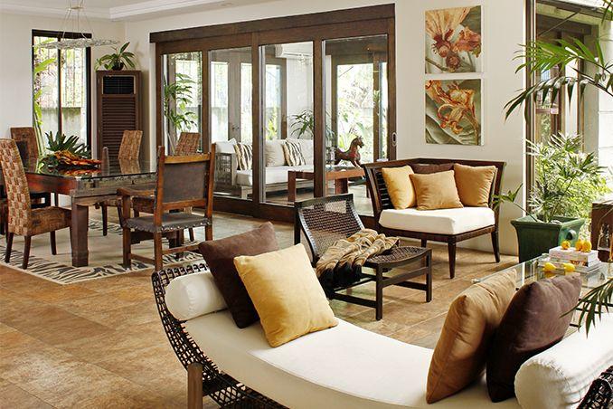 10 Things We Love About A Filipino Home House Interior Design Living Room Filipino Interior Design Modern Filipino Interior