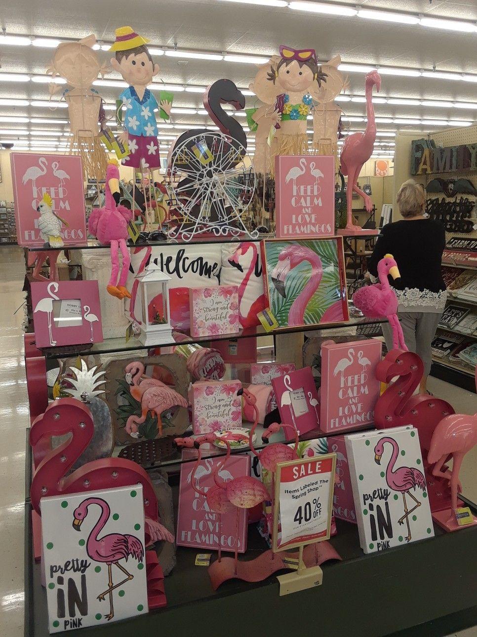 Hobby Lobby With Images Flamingo Decor Flamingo Theme