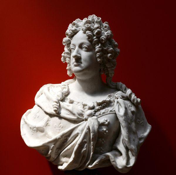 Marie Thérèse d'Autriche. François Girardon. Musée de Troyes ...