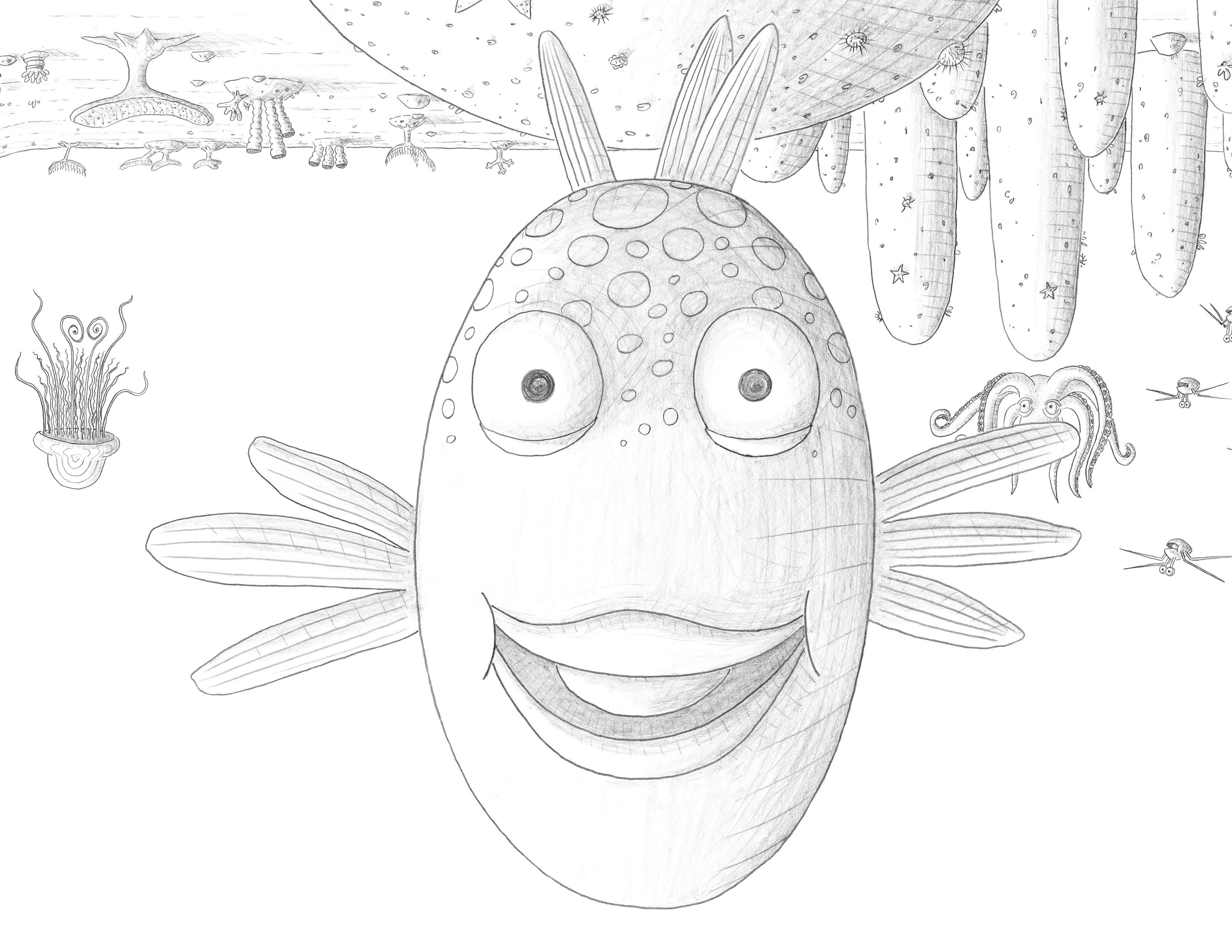 F Is For Fish Fish Coloring Page Animal Coloring Pages Coloring Pages