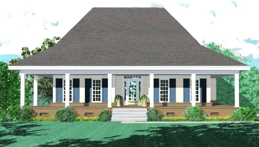 Single Story House Plans With Wrap Around Porch House Plan Wrap Around Porch Plans F Country Style House Plans Farmhouse Style House Plans Southern House Plans