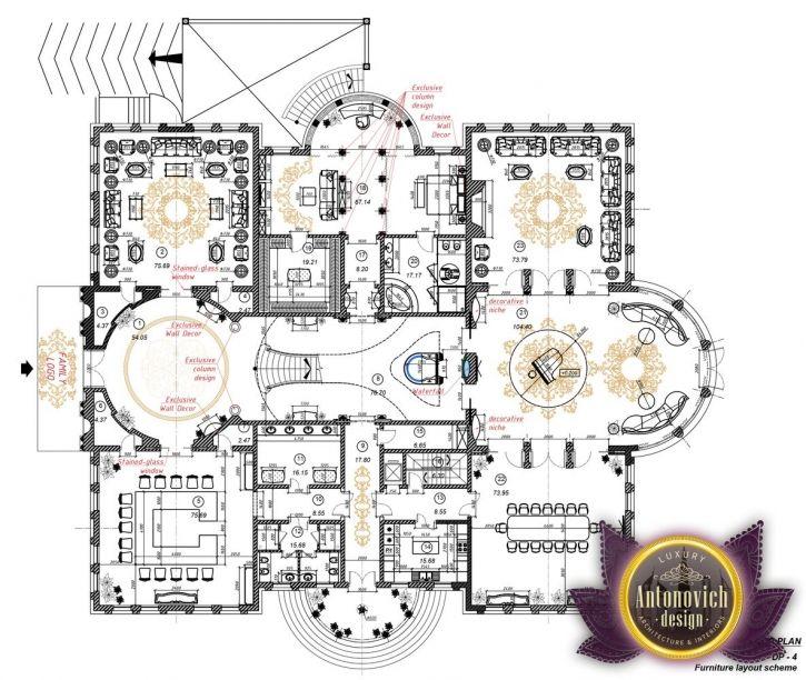Luxury House Plan Qatar 22 By Antonovich Designs 2nd Floor Mansion Floor Plan Luxury House Plans House Plans