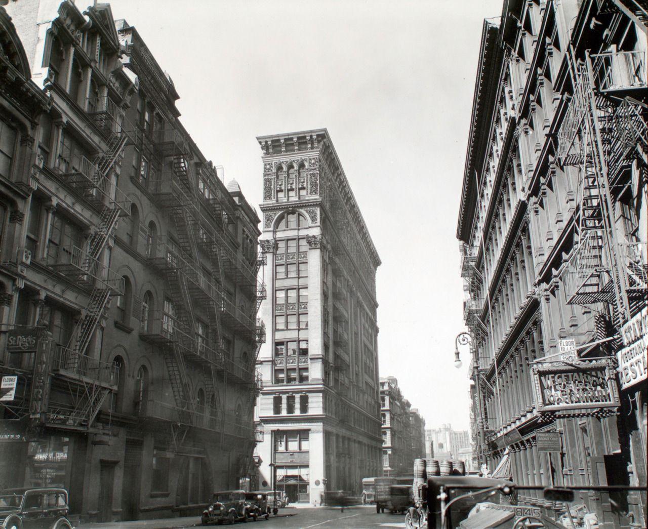 "onceuponatown "" New York Broadway near Broome Street"