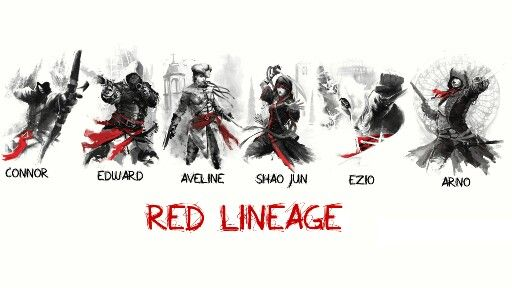 Red Lineage Assassins Creed Cool I Like It Assassins Creed