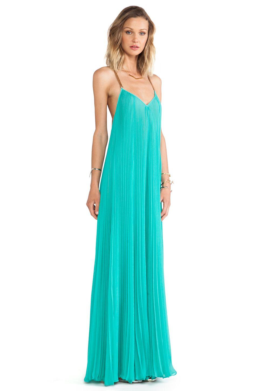 BCBGMAXAZRIA Brynna Maxi Dress in Turquoise | REVOLVE | Clothes I ...