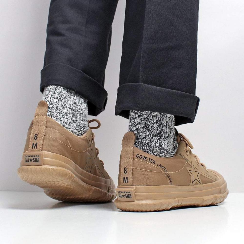 Converse One Star MC18 Ox Shoes - Teak