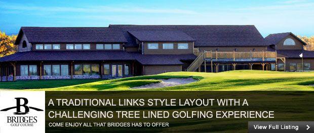 13+ Bridges golf winnipeg information