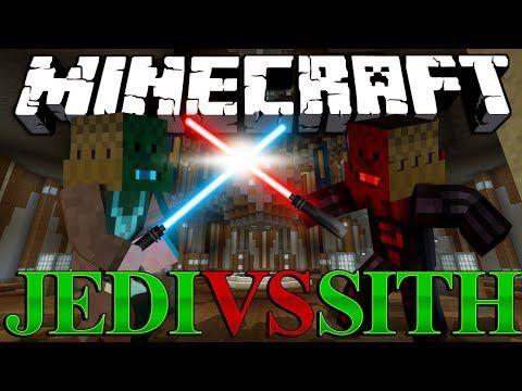 Minecraft Star Wars Mod Jedi Vs Sith - Mod Battles