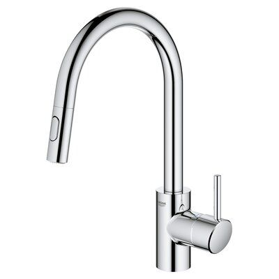 Grohe Concetto Dual Spray Single Handle Kitchen Faucet Finish