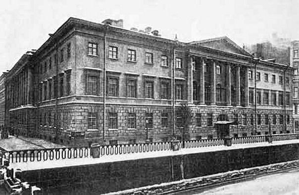 Дом Коллегии Иезуитов. /Итальянская,1 | Старые фото, Санкт ...