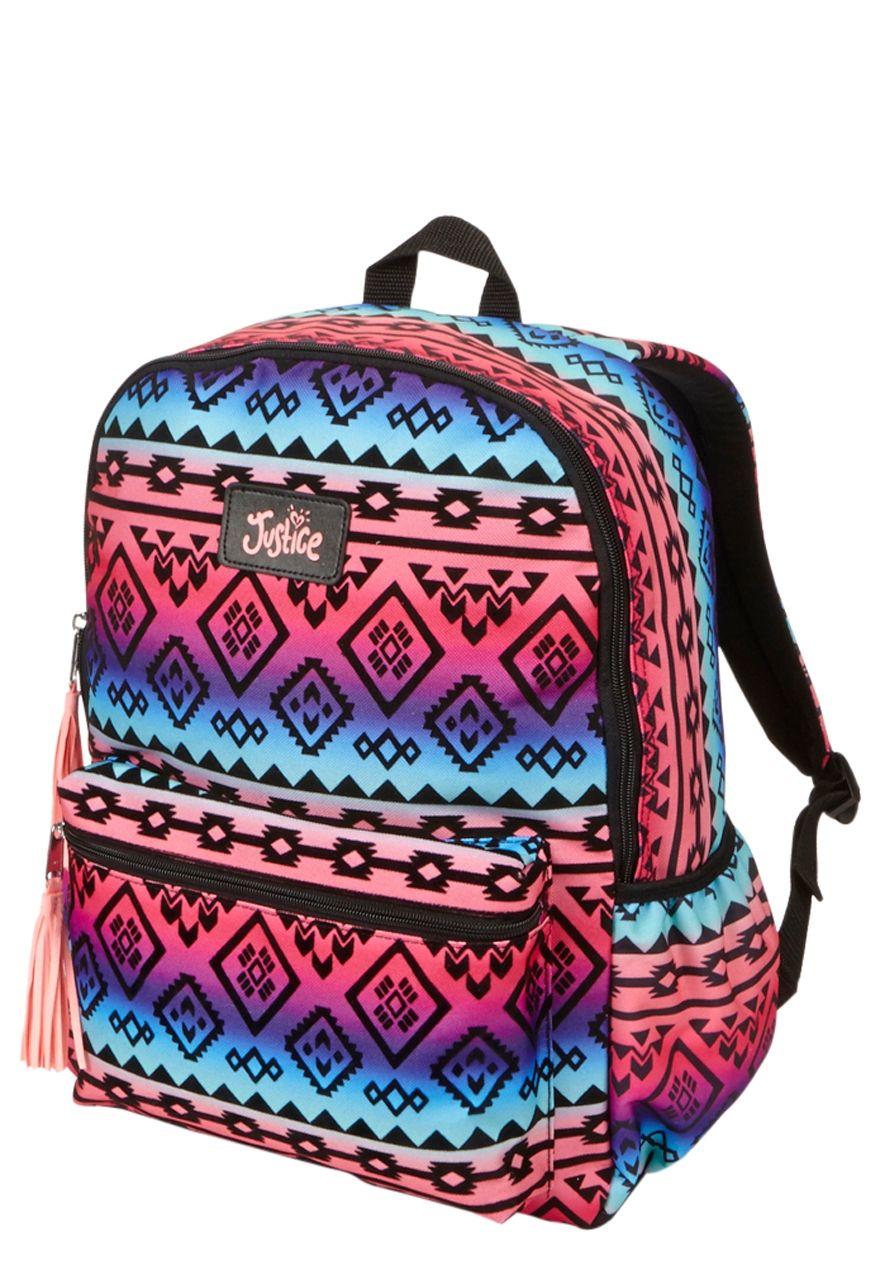 Multi Tribal Backpack