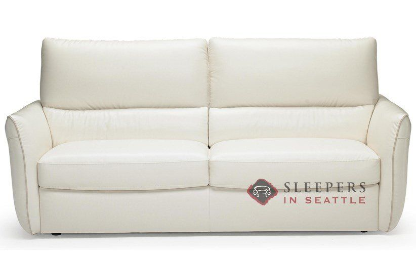 Versa B842 Leather Full Sleeper Sofa
