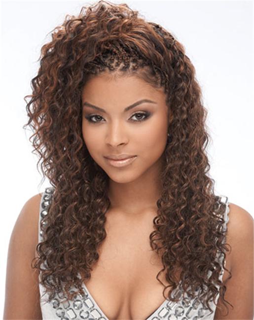 18 Human Hair Premium Blend Deep Wave Bulk For Braiding Colors For Natural Look Hair Premium Micro Braids Hairstyles Hair Styles