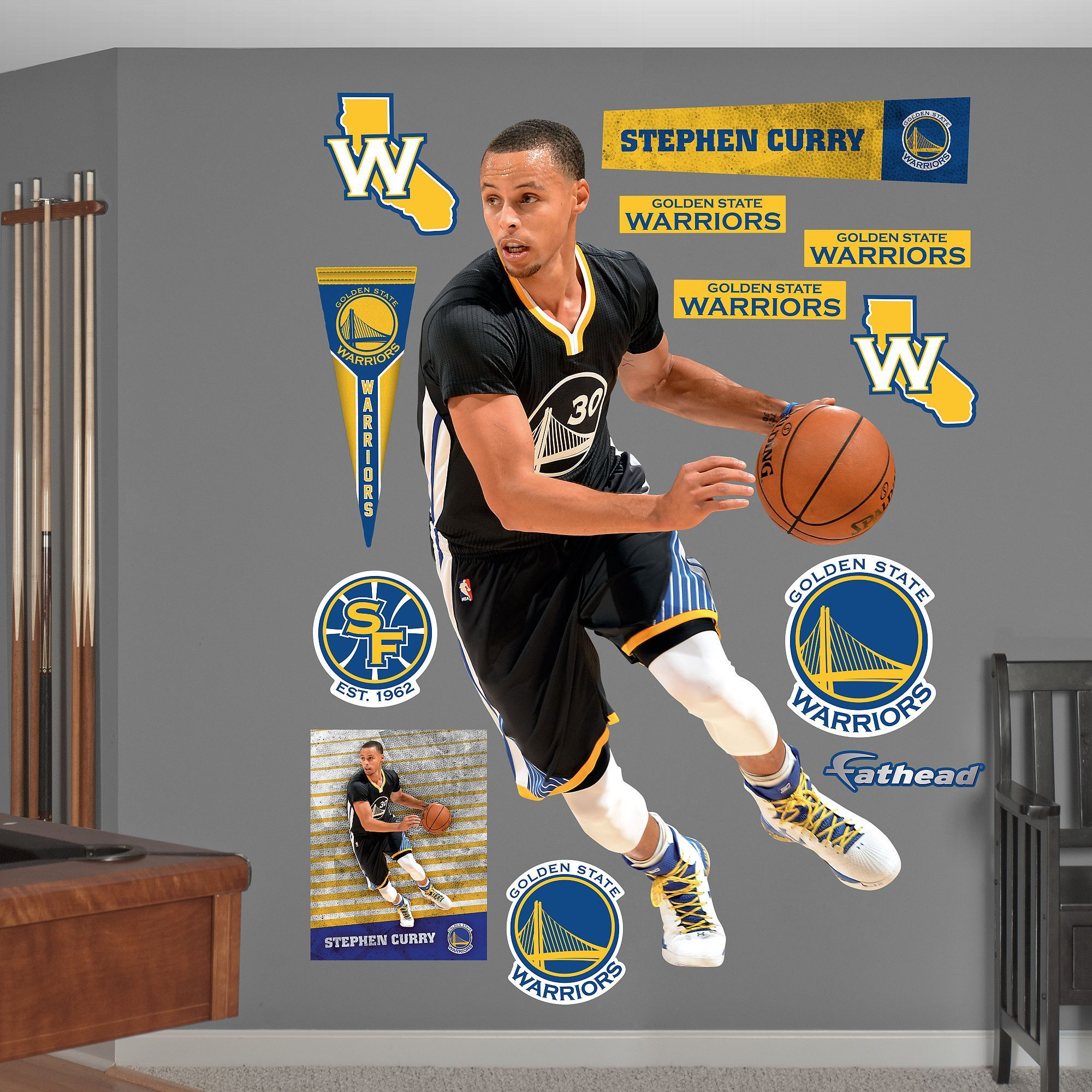 Fathead realg wall decals are hi definition action images that big wall decals are hi definition action images that you stick amipublicfo Image collections