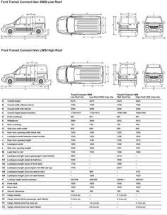 Ford Transit Connect Dimensions Transitional Kitchen Design