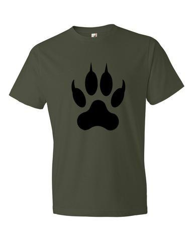 Lion Paw Print Short sleeve tee