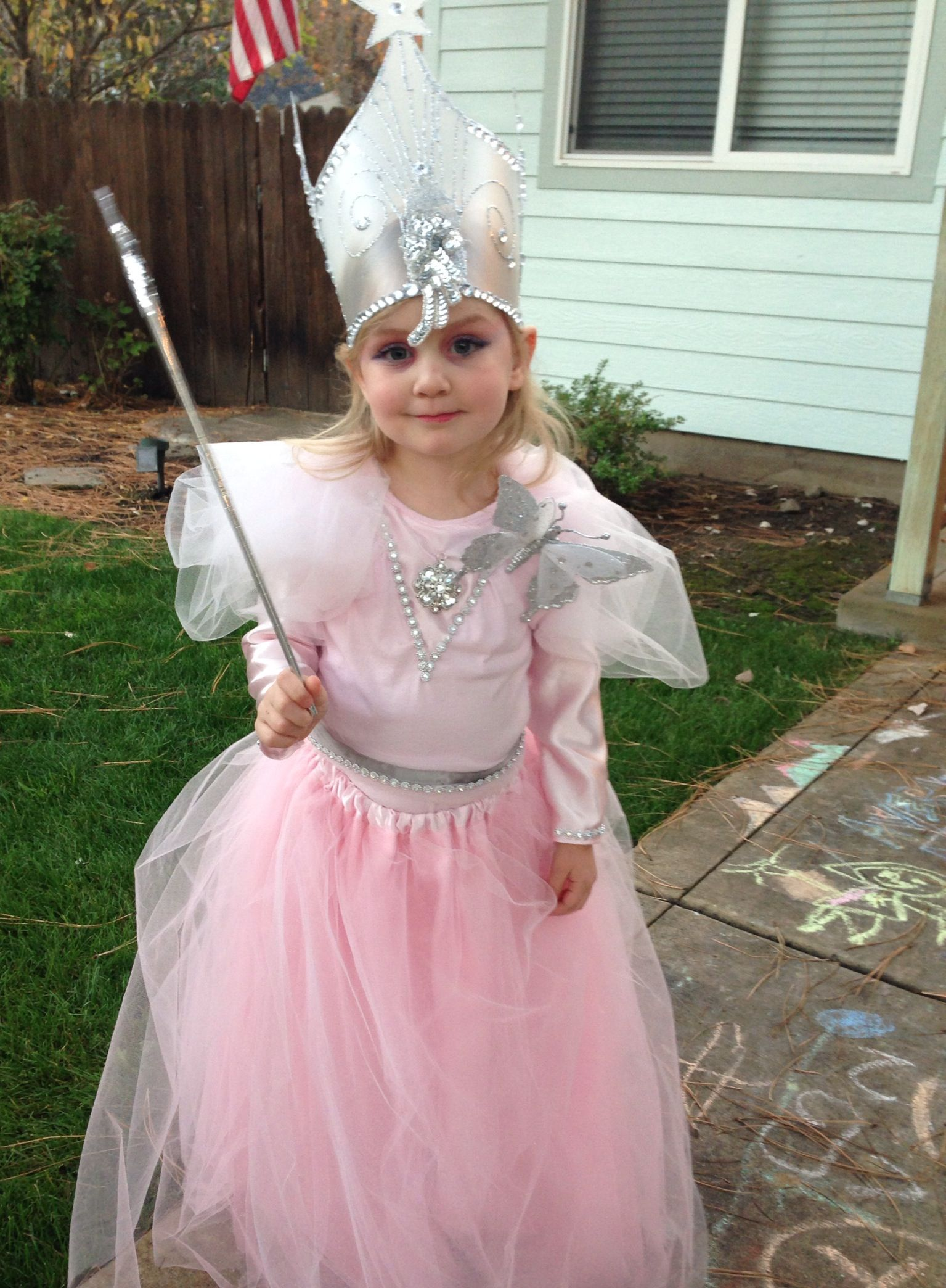 Homemade Glinda the Good Witch costume halloween | Glinda Costume ...
