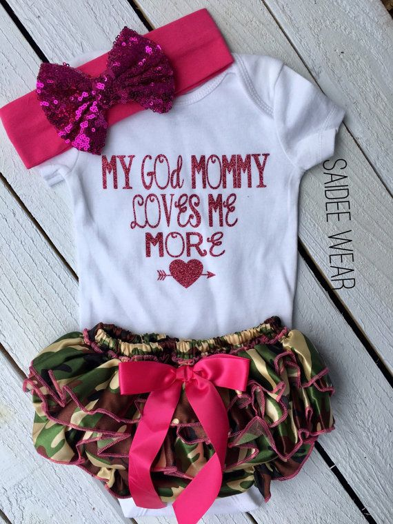 36aa7cd60 Godmother outfit Baby girl clothing Goddaughter gifts   Special ...