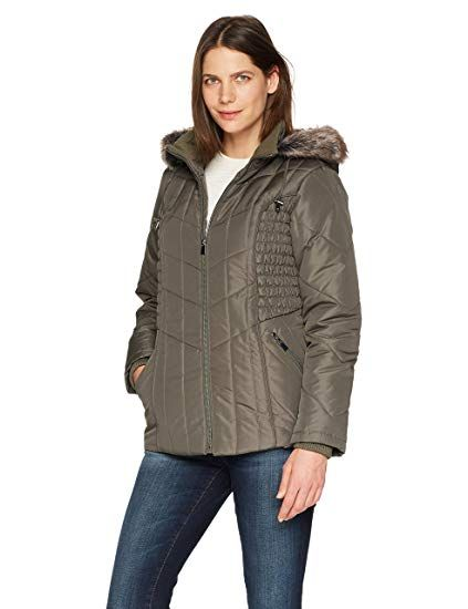 e9cc54c345340 New Details Women s Puffer Coat with Braided Rouched Side online.   59.99   23 offers on top store
