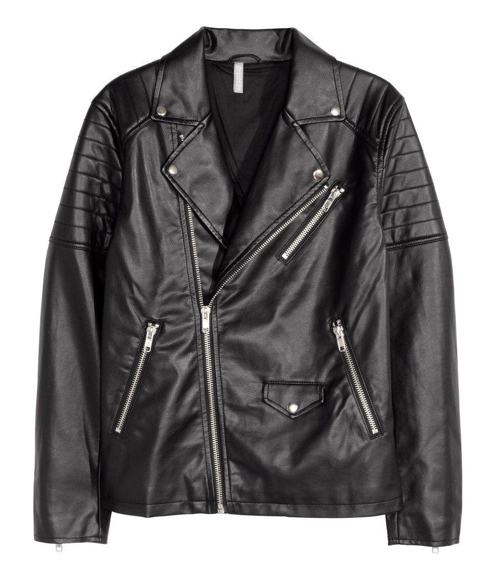 Access Denied Leather Jacket Men Biker Jacket Vegan Leather Jacket [ 1137 x 972 Pixel ]