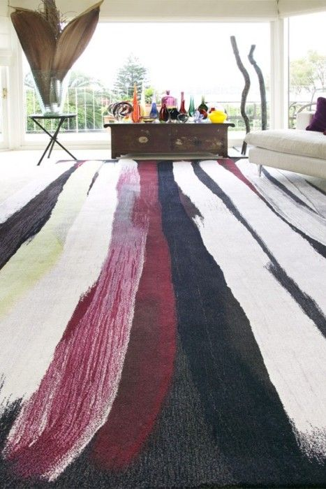 From Australian Rug Company Designer Rugs Comes This 100 New Zealand Wool Rug Created By Indigenous Artist Minn Rug Design Hand Tufted Rugs Australian Decor