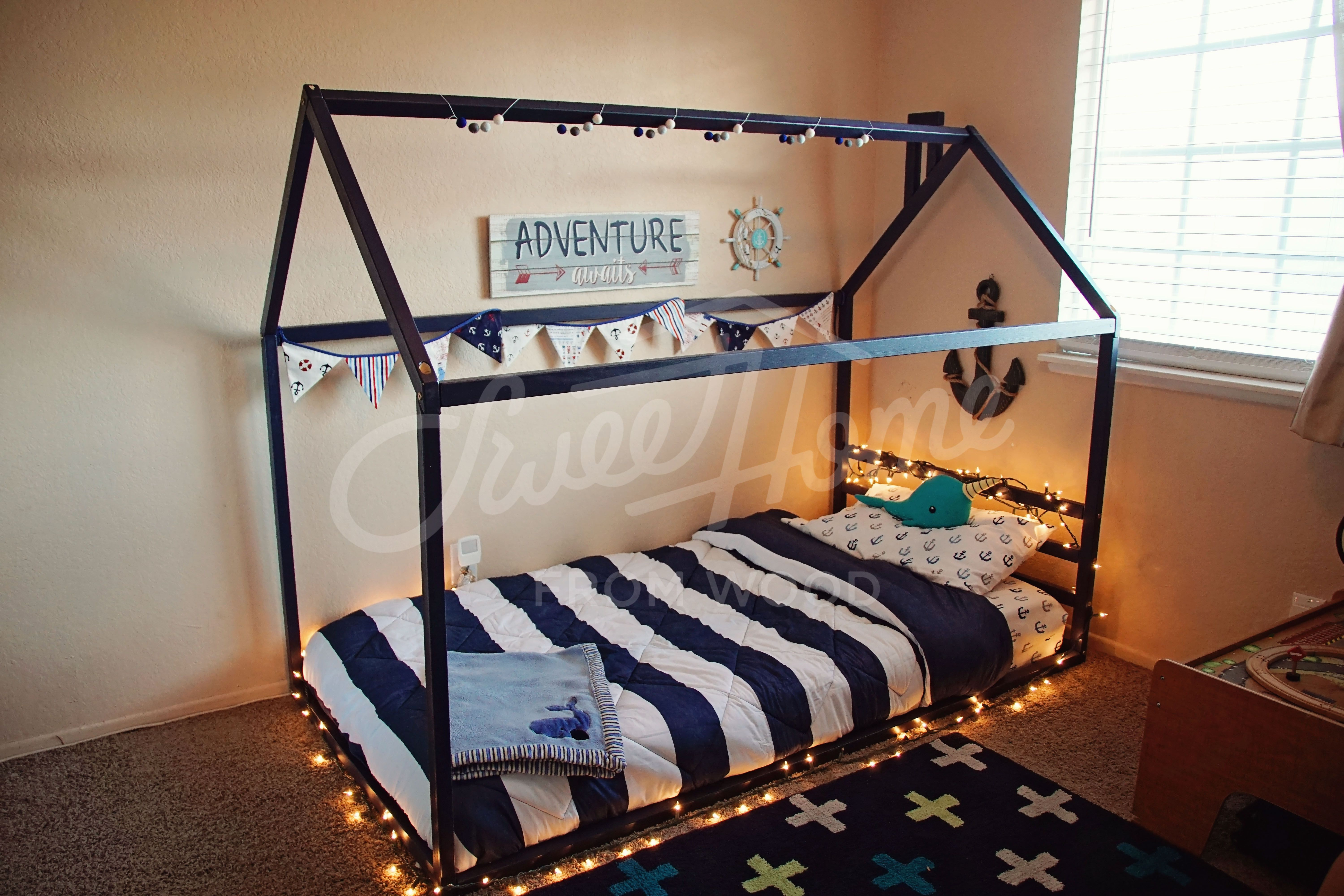 Toddler Bed Play House Bed Frame Children Bed Kids Bed Home Bed