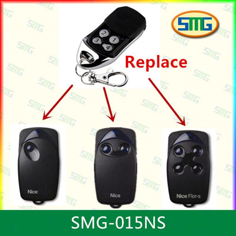 Promotion Free Shipping Smg 015ns Nice Flors Gate Garage Door Opener Remote Control Free Shipping Remote In 2020 Garage Door Opener Remote Gate Remote Remote Control