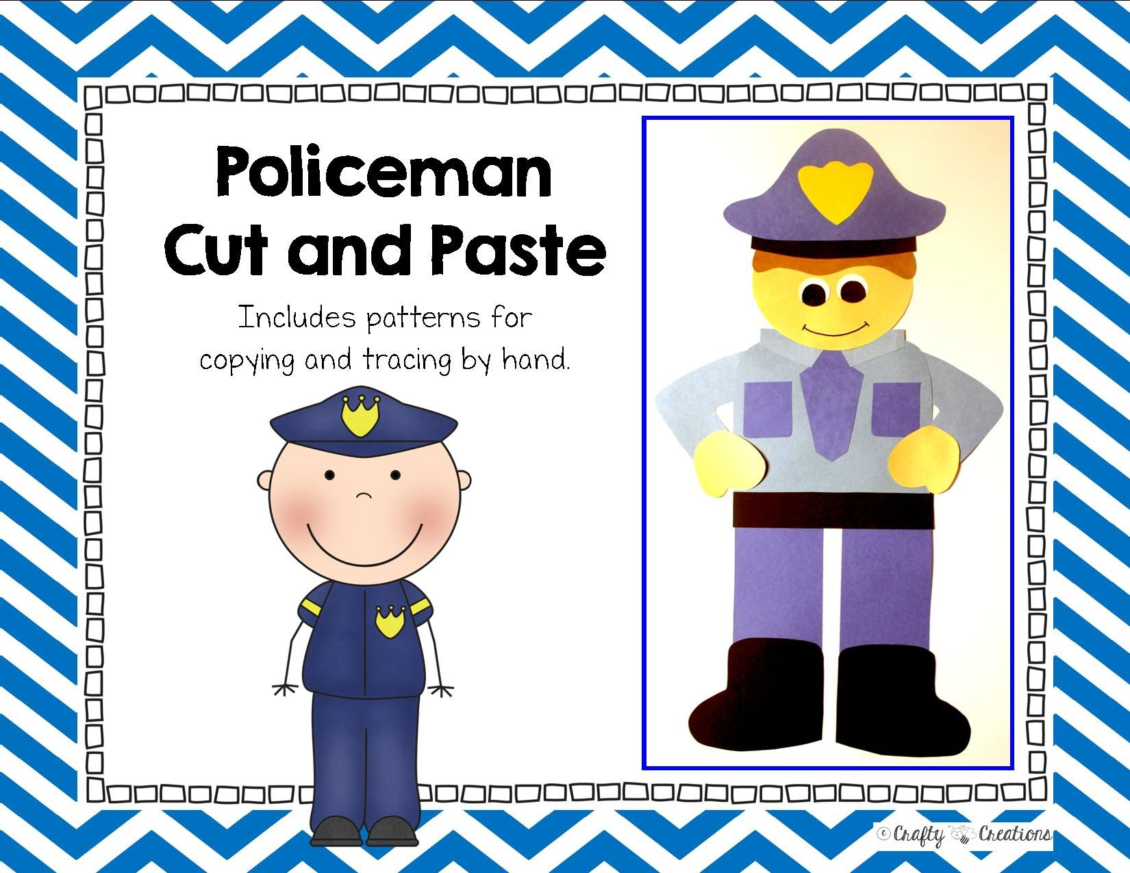 Community Helper Craft Police Officer