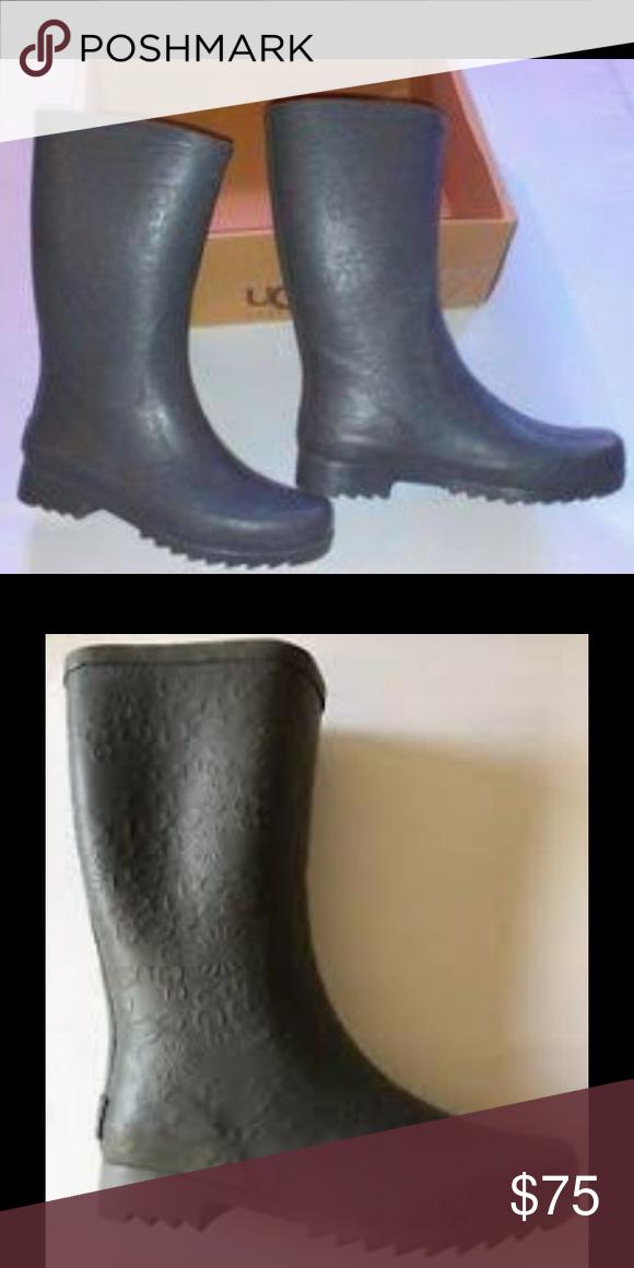 b74c92e00ca ⚡️6HRSALE⚡️UGG Wilshire Logo Short Rain Boots 3385 in 2019 | My ...